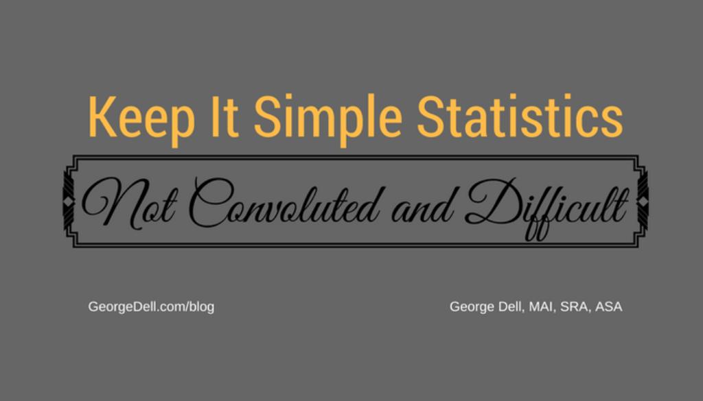 Keep It Simple Statistics