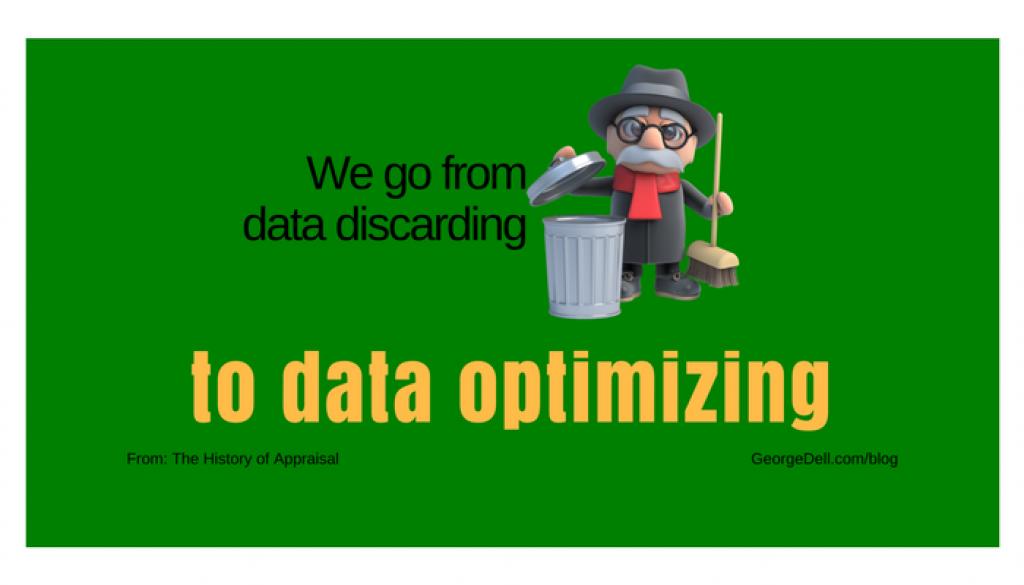 Trashman data discarding to data optimizing