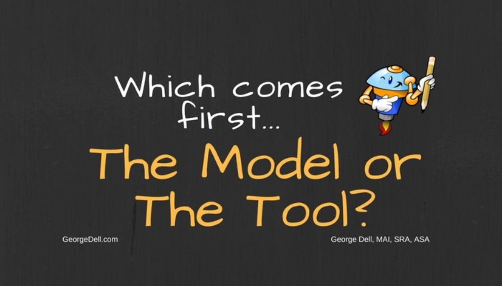 Which Comes First, The Model or The Tool